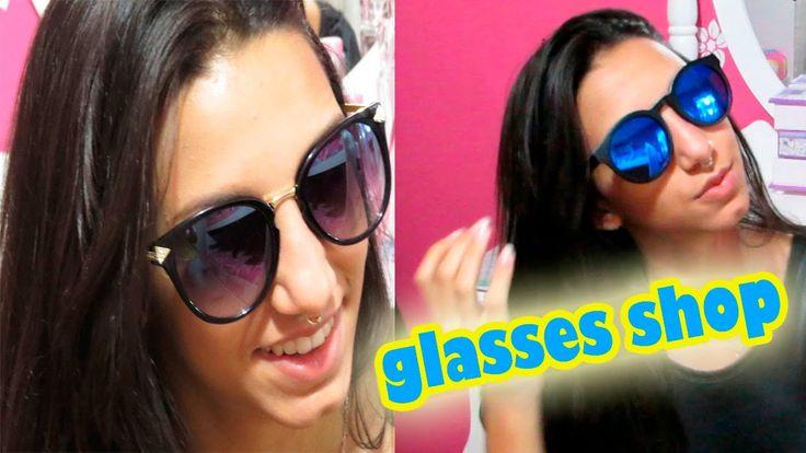 REVIEW:Óculos de sol Glasses shop!