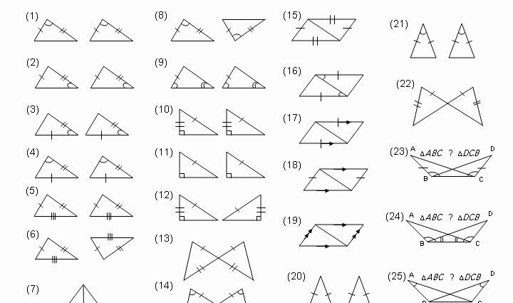 50 Congruent Triangles Worksheet With Answer In 2020 Triangle Worksheet Congruent Triangles Worksheet Worksheets