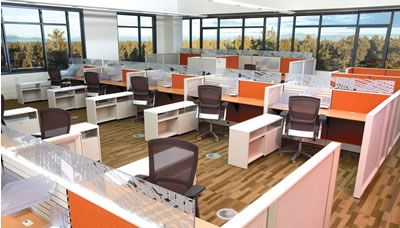 Collaborative office spaces google search work Collaborative workspace design