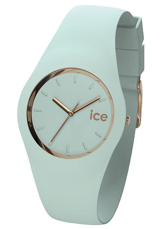 "Ice watch, Armbanduhr, ""ICE-GLAM Pastell Aqua, ICE.GL.AQ.U.S.14"""