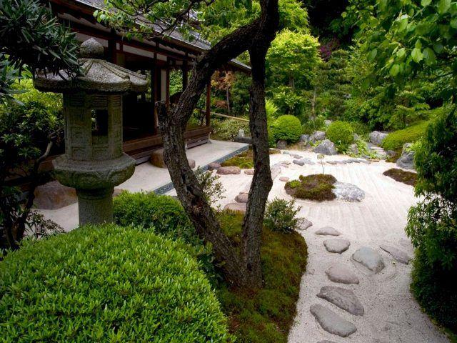 Die besten 25+ Zen rock garden Ideen auf Pinterest Japanische - kleiner japanischer garten