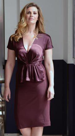 Vanessa Incontrada in Mant� alla presentazione del film -Ti sposo ma non troppo-