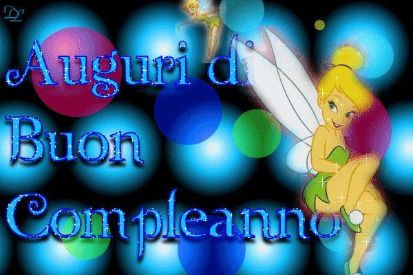 Auguri di Buon Compleanno #buonaserata tinkerbell