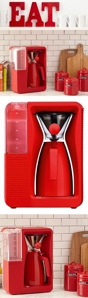 Red coffee maker #product_design #industrial_design