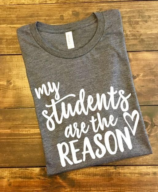 My Students Are The Reason