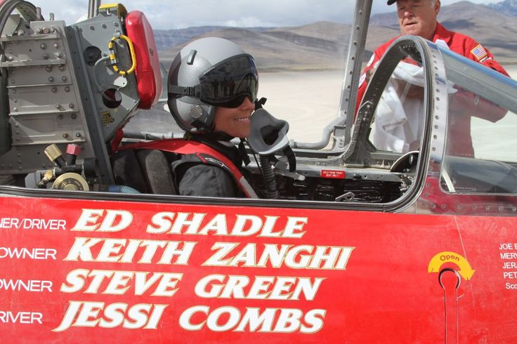 Jessi Combs sets female land speed record!
