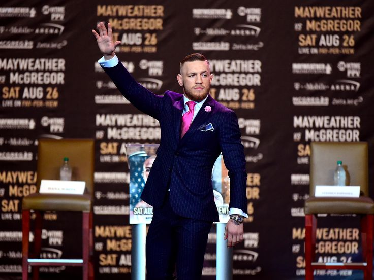 $100 million fighter Conor McGregor has a plan to crack the number one spot on the Forbes rich list — and it involves toppling Net-a-Porter - Conor McGregor could earn $100 million for his boxing-rules bout with Floyd Mayweather — but the UFC star has his sights set on an even richer prize.  The Irish icon is already the number one fighter in UFC and could be the number one in boxing if he upsets Floyd Mayweather on August 26.  However, McGregor is determined to be triumphant in another…