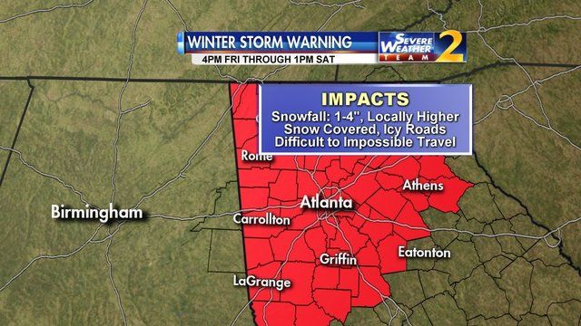 ATLANTA SNOW: Gov. Nathan Deal declares state of emergency ahead of winter storm | WSB-TV