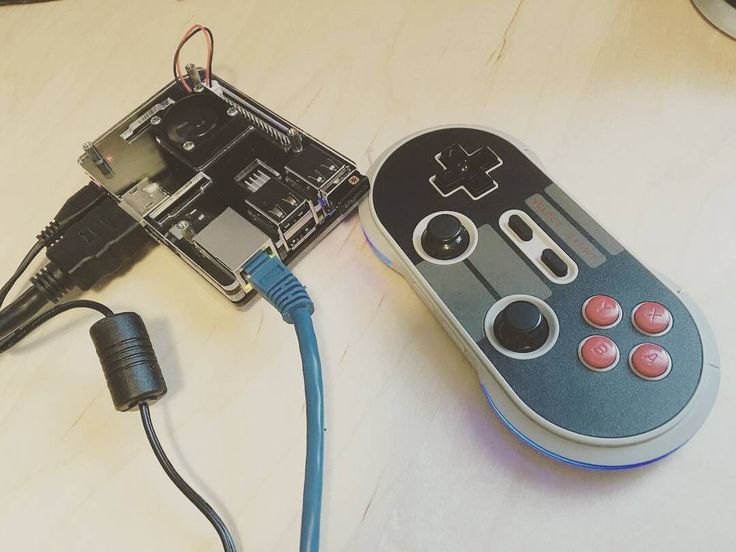 """Something we loved from Instagram! @Regrann from @roninniagara -  Paired an 8bitdo """"nes30 pro"""" controller to the pi3 with its integrated Bluetooth! All analog sticks and buttons work! #8bitdo #nes30 #nes30pro #raspberrypi #pi #pi2 #pi3 #emulation #emulationstation #retropie ##nes #nintendo #snes #supernintendo #gamecube #wii #wiiu #retrogaming #retrogamer #retro #classic #Regrann #coram_yhwh by coram_yhwh Check us out http://bit.ly/1KyLetq"""