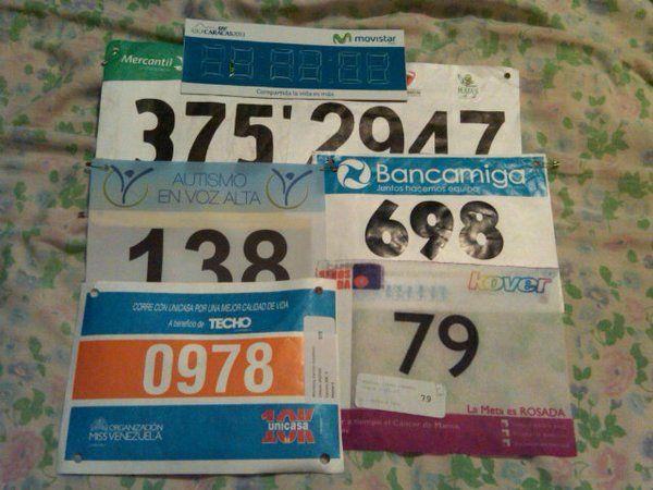 Mis pruebas de esfuerzo cardiaco año 2015: MM CAF, MM Plazas, Carrera 5K Autismo en Voz Alta, Carrera 7K Unicef, Carrera 10K Seno Salud
