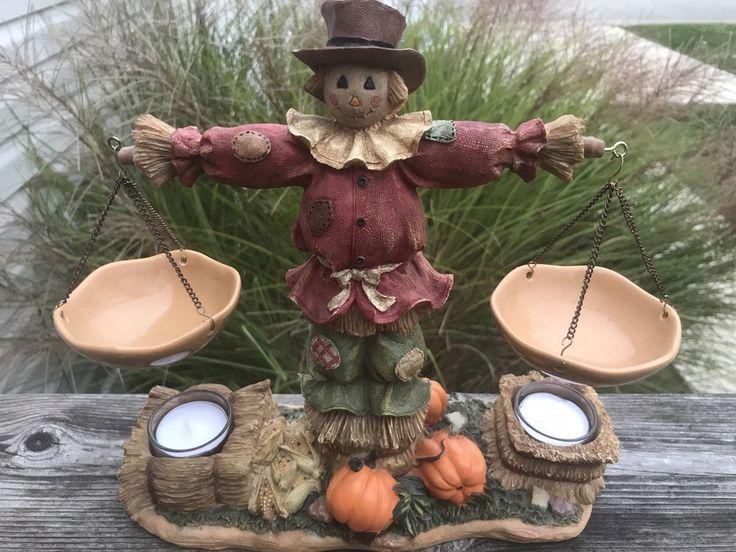 Yankee Candle Scarecrow Double Hanging Tart Burner Warmer Halloween Fall Harvest #YankeeCandle