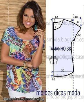d2f1be2d542 Выкройки летних блузок (Шитье и крой)