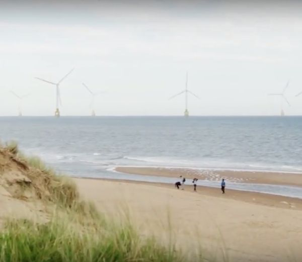 More golf woes for President Trump in Scotland as offshore wind farm takes shape...