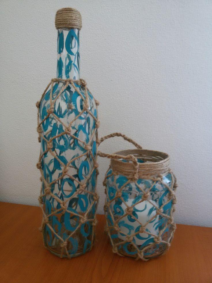 Váza a svícen