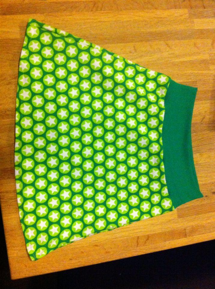 À-lijn rokje van tricot voor een meisje
