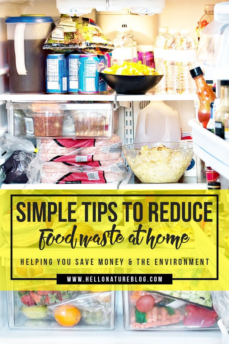 You could be throwing hundreds of dollars down the drain each year by throwing food away. Here are 9 simple tips on how to reduce food waste at home.