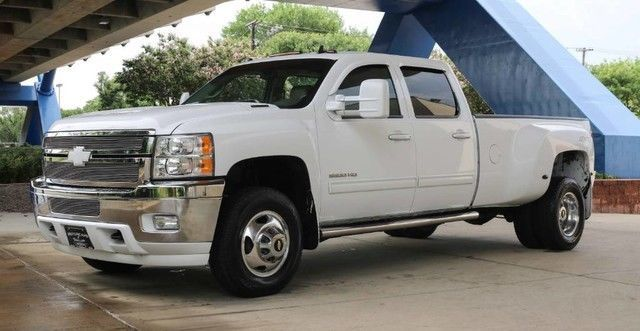 Loaded 2013 Chevrolet Silverado 3500 LTZ lifted