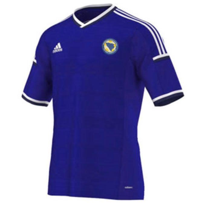Bosnia-Herzegovina Home Kit for World Cup 2014 #worldcup #brazil2014 #bosnia  #