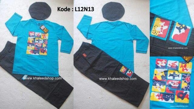 Baju Muslim Anak Cowok L12N13 Size 12 Remaja Cowok Untuk Usia 12 Tahun IDR 279.000 - 10% -->> IDR 251.100  Cara Pemesanan :   (1) SMS ke 0857 1746 6959 (2) Dengan format SMS sbb : NAMA + KODE PESANAN + ALAMAT LENGKAP + NO.HAPE  KUNJUNGI WEBSTORE KAMI DI -->> www.khaleedshop.com   Temukan di ⇩untuk ORDER dan lihat koleksi terbaru kami Dannis Khaleed Shop Semarang :  LINE / KakaoTalk / BeeTalk : khaleedshop Path / Pinterest : Khaleed Shop Semarang Whatsapp : 0857-1746-6959 Instagram…