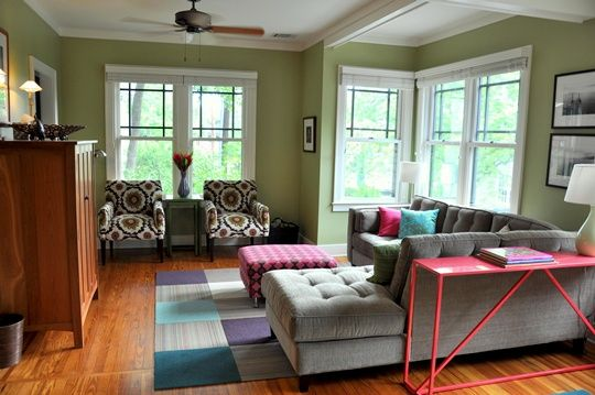 amazing orange green paint colors living rooms | 22 best Sherwin Williams Svelte Sage images on Pinterest ...