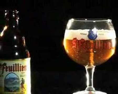 Saveur Bière une St. Feuillien blonde