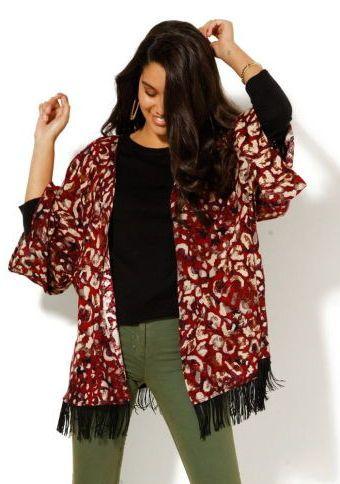 Kardigan s ozdobnými strapcami #ModinoSK #kardigan #etno #moda #trend #styl #fashion #autumn #fall #modern