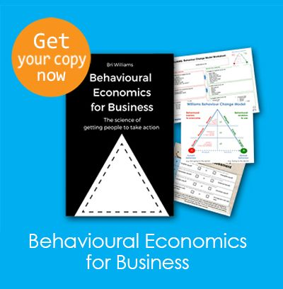 One of my books, Behavioural Economics for Business