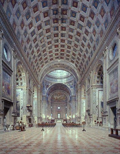 Alberti, Sant' Andrea c.1470 #Mantua #Mantova #Lombardia #Italy www.in-lombardia.it/