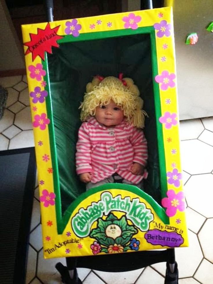 Cabbage Patch doll -- 34 Babies In Halloween Costumes The Whole World Needs To See