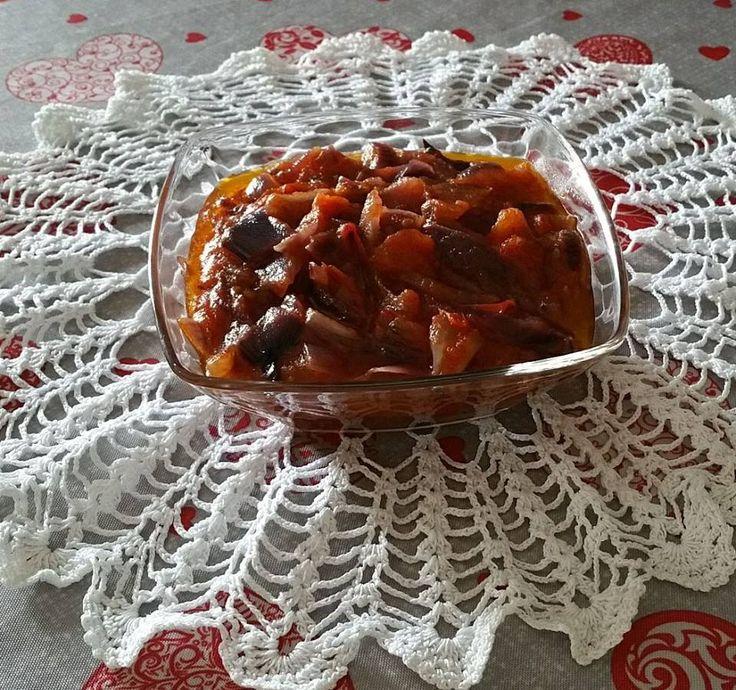 Sugo+cipolle+caramellate+e+pomodoro