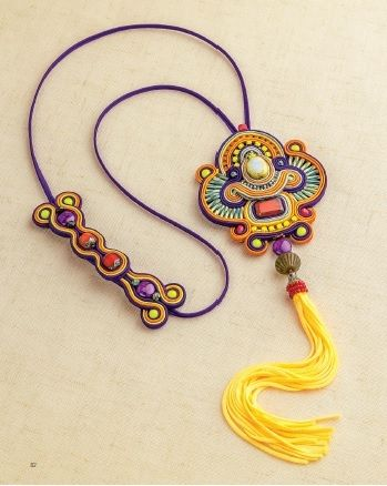 Soutache jewelry tutorial …