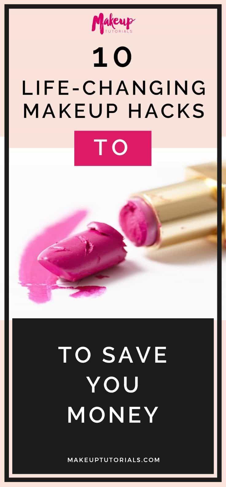 life-changing makeup hacks   10 Life-Changing Makeup Hacks To Save You Money