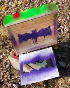 I know this will freak some out...but bats are really useful. Her is a how-to...build a bat house