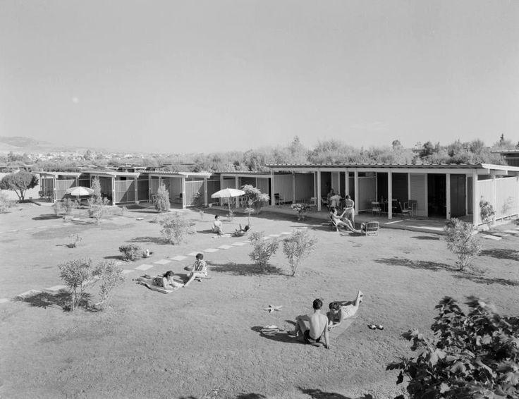 1955 ~ Asteria beach in Glyfada