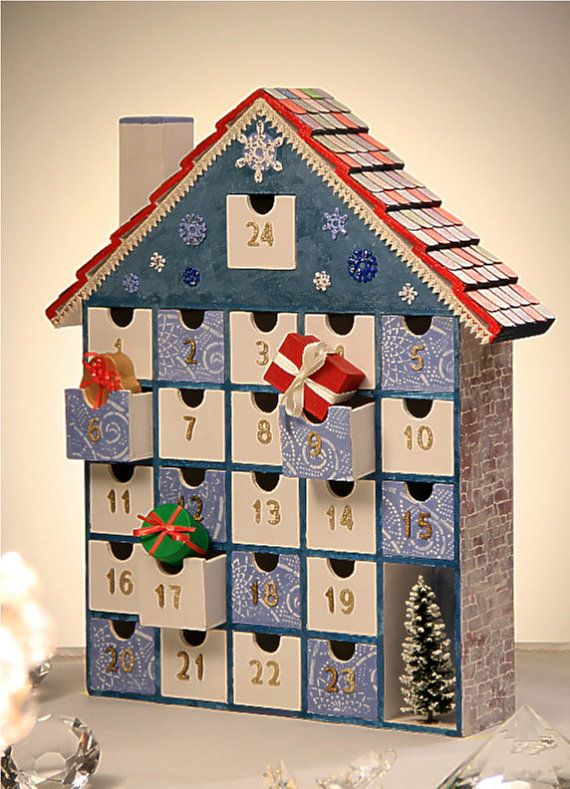 NEW  Musical Wooden Advent Calendar  DIY  Tune The by StardustKay, $228.00
