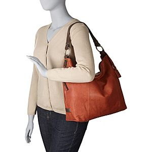 Buy the Ellington Handbags Sadie Glazed Hobo at eBags - Carry your essentials from day to night inside this relaxed leather hobo bag from Ellington Handbags