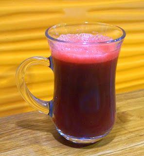 Pij soki wyciskane: Burak, grejpfrut, gruszka
