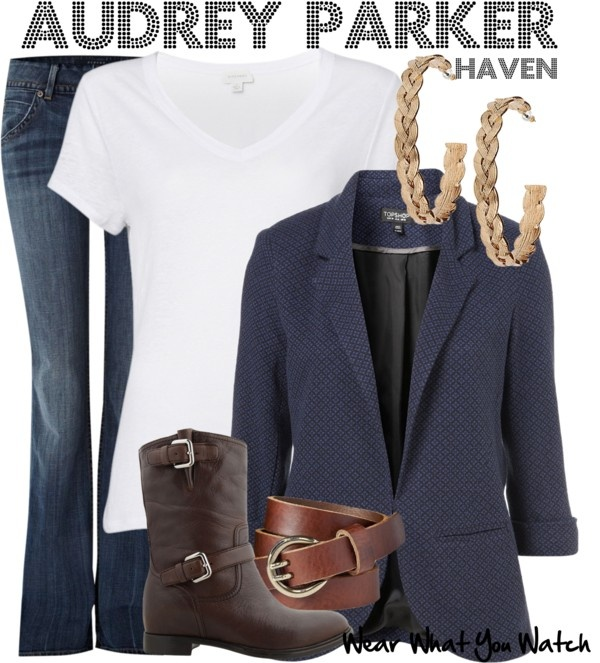 Inspired by Emily Rose as Audrey Parker on Haven.