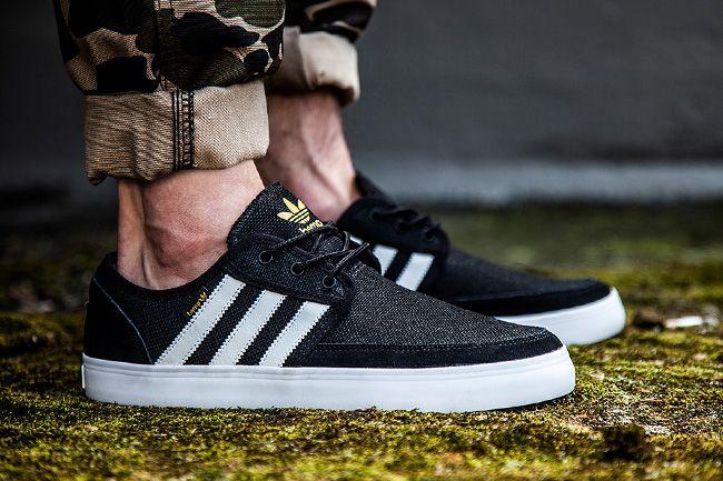 Sneaker Central - ADIDAS SEELEY BOAT HEMP - Foot Locker