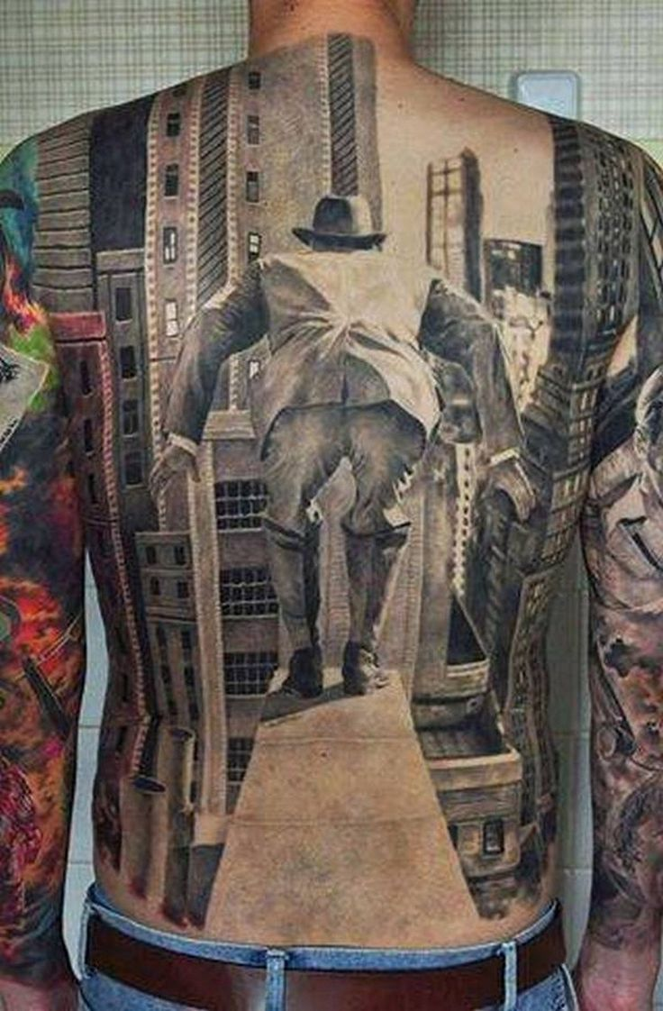 Men, who are crazy tattoo enthusiasts, can stun you with their extreme concepts and full back pieces.
