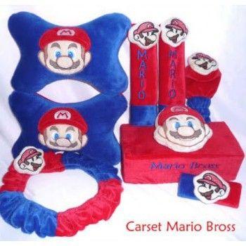Bantal Mobil Set 6 In 1 Mario Bross https://www.bukalapak.com/chamboja
