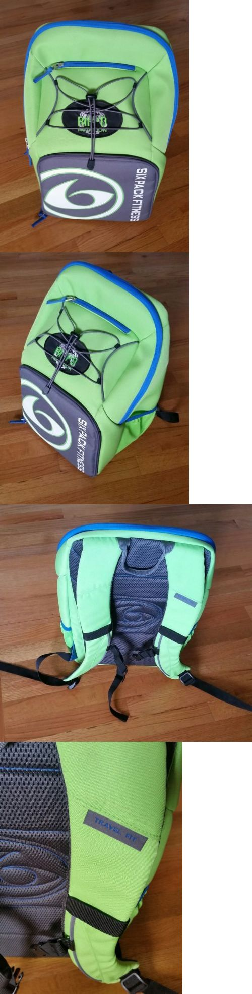 Gym Bags 68816: Six Pack Fitness Backpack Travel Fit Bag Meal Management -> BUY IT NOW ONLY: $99.95 on eBay!