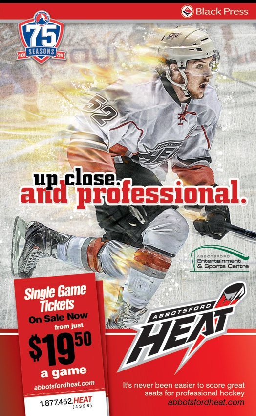 The Abbotsford Heat: Up close and professional.