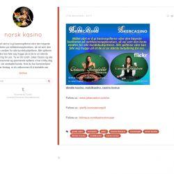 direkte kasino, mobilkasino, casino bonus  | Visual.ly