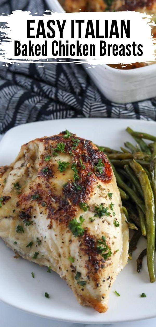 Zesty Italian Chicken With Dressing Recipe Recipe Italian Baked Chicken Recipes Baked Chicken Recipes Easy