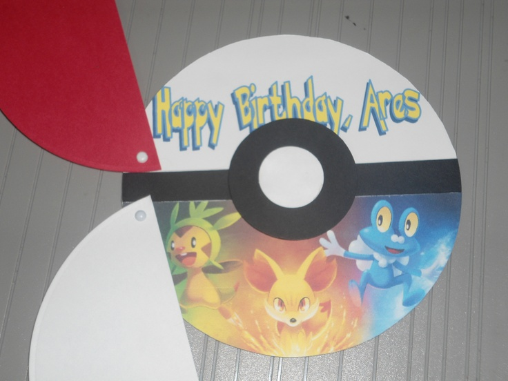 1000 ideas about Pokemon Birthday Card – Pokemon Birthday Card