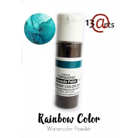 Rainbow Color Duo Turquoise -13Arts