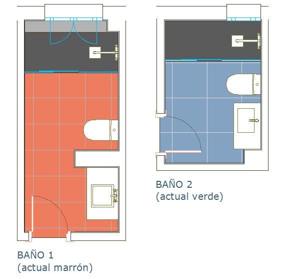 Reforma de baños de vivienda