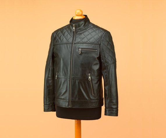 Leather jacket • biker jacket • custom leather jacket • black leather jacket • mens leather • leather jacket men • genuine leather