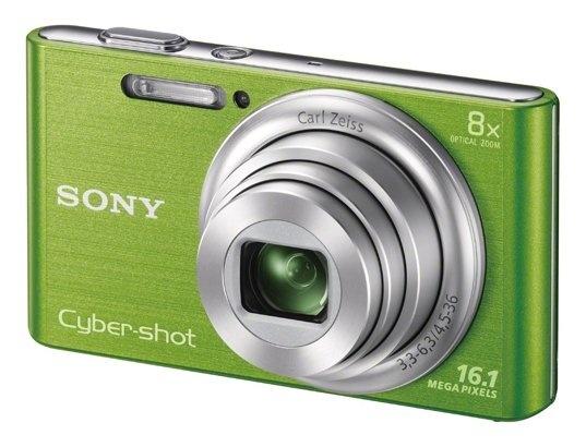 Appareil photo numérique compact SONY Cybershot DSC-W730G vert